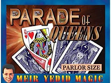 SOLOMAGIA Parade of Queens (Parlor Size) - Tricks with Cards - Trucos Magia y la Magia: Amazon.es: Juguetes y juegos