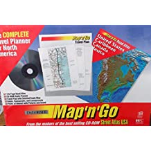 Map and Go Travel Planner/Atlas&Disk