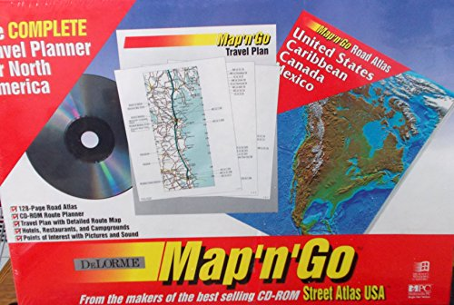 Pc Delorme Maps - Map and Go Travel Planner/Atlas&Disk