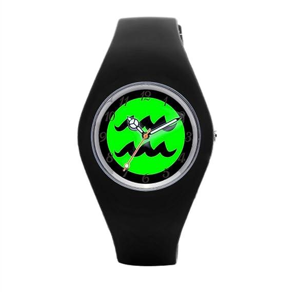 Redondo para Mujer de goma reloj Zodiac Reloj de pulsera marcas