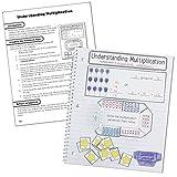 Carson Dellosa Math Interactive Notebook, Grade 3