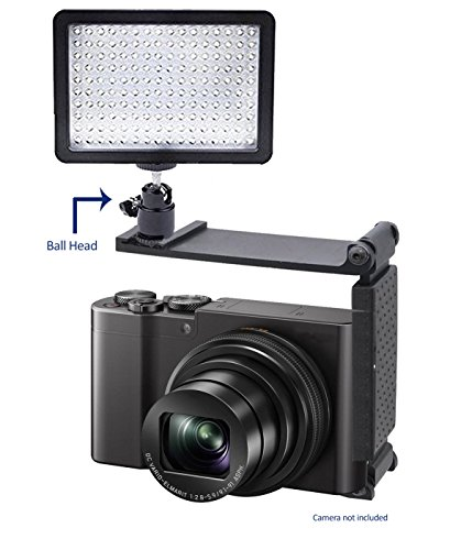Sony Cyber-shot DSC-RX100 V Professional Long Life Multi-LED Dimmable Video Light w/ Bracket by Digital Nc