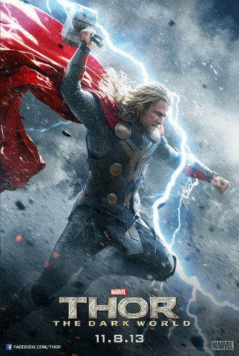 Thor: The Dark World (2013) 24X36 Movie Poster (THICK) - Chris Hemsworth