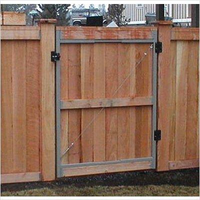 - Adjust-A-Gate Steel Frame Gate Building Kit (60