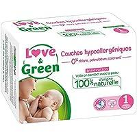 Love & Green – Pañales hipoalergénicos 0%