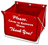 Foldable Shoe Cover Holder (Red) - Best Reviews Guide