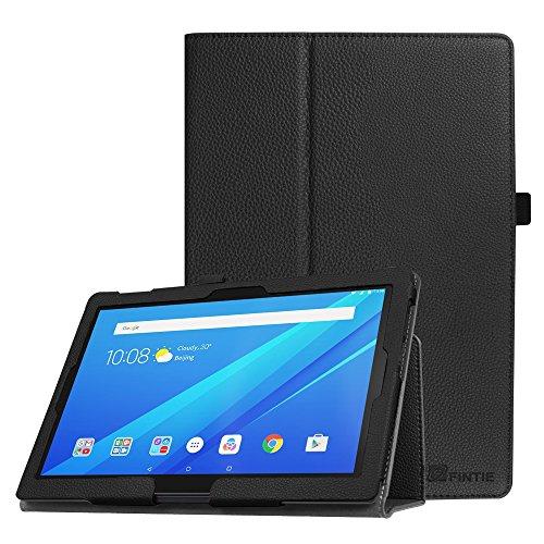 Fintie Case for Lenovo Tab 4 10 / Lenovo Tab 4 Plus 10 / AT&T Lenovo Moto Tab 10.1-Inch Tablet - Premium PU Leather Folio Cover with Auto Sleep/Wake, Black