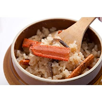 servicio de alimentos en todo el pa?s del G7 Jap?n nombre de la cer?mica Sen este arroz hervidor de cangrejo una comida: Amazon.es: Alimentación y bebidas