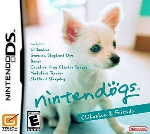 Nintendogs Chihuahua & Friends (Good Outlet Is Clothing Life)