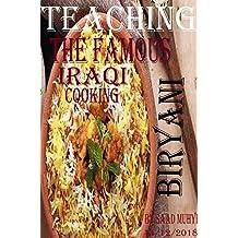 Teaching the famous Iraqi cooking(Iraqi biryani)..Electronic Book/pdf.