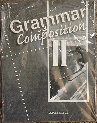 Used, Grammar and Composition II (Test/Quiz Key, Fourth Edition) for sale  Delivered anywhere in USA