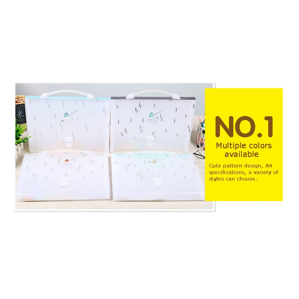 Office Supplies Akkordeon-Dateipaket, tragbarer 13-stöckiger 13-stöckiger 13-stöckiger Multilayer-Datenspeicherordner, geeignet für Schüler A4 B07NYSVK4B | Mama kaufte ein bequemes, Baby ist glücklich  cbcec0