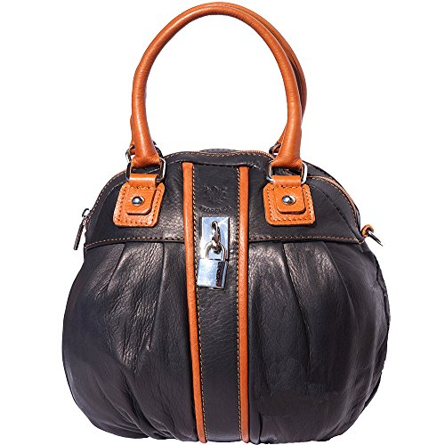 FLORENCE LEATHER MARKET Mujer 8621 Nero-cuoio