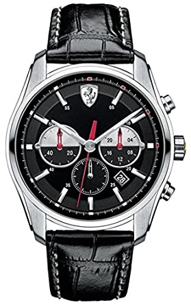 31366d0ebf9 Image Unavailable. Image not available for. Color  Ferrari Scuderia GBT-C Mens  Watch 0830200