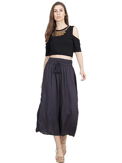 32ef301cda437 Ritu Kumar Label Women s Regular Fit Top (STPHVL40 S35N17827538-BLACK -S Black S)