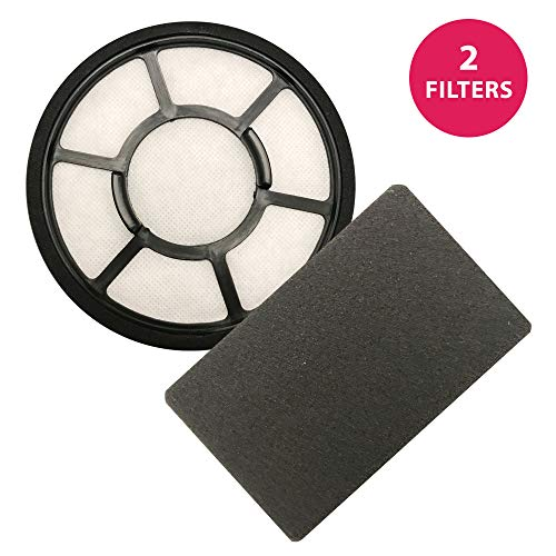 Think Crucial Replacement Kit for Black & Decker Pre Filter & Carbon Filter, Compatible with BDASV102 Airswivel Vacuum Cleaners