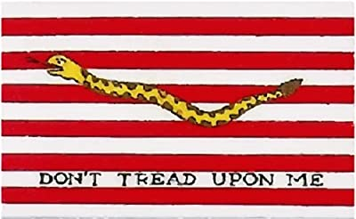 First Navy Jack - Navy Jack Vinyl Decal Sticker - Navy Jack Bumper Sticker - Patriotic Decal - Perfect 2nd Amendment Patriotic Gift - Made in the USA