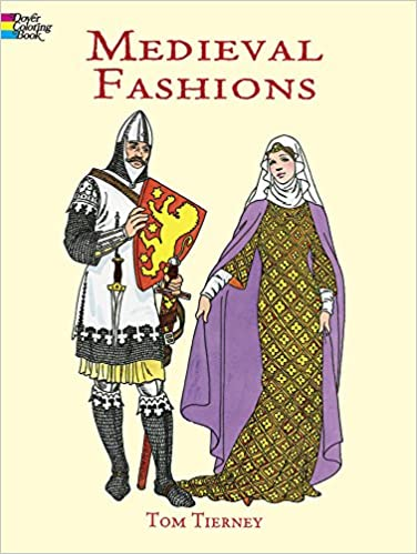From The Standard Clothing Of Peasants To Flowery Kinds Aristocracy This Meticulously Researched Coloring Ebook Bargains Expertly Rendered