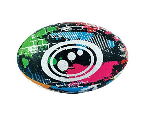Rugby Training Top - Optimum Training Rugby Ball - Cartoon Novelty Fun Character Rugby Balls (MIDI, STREET)
