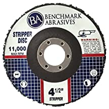 """4 1/2"""" x 7/8"""" Benchmark Abrasives - Paint & Rust Stripping Cup Wheel - 10 Pack"""