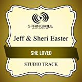 She Loved (Medium Key Performance Track With Background Vocals)