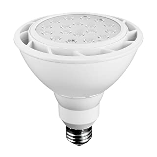 Euri Lighting EP38-1050ew LED PAR38 Bulb, Everyday Line, Cool White 5000K, Dimmable, 18W (100W Equivalent), 1500 lm, 40 Degree Beam Angle, Medium Base (E26), UL & Energy Star Listed, IP65