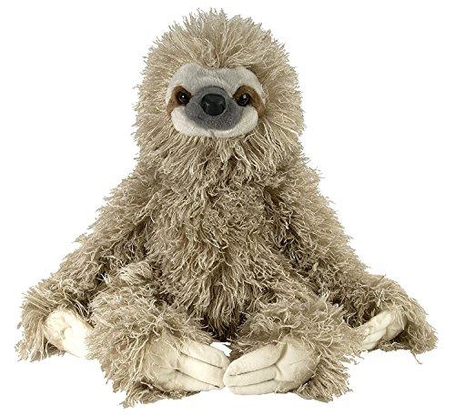 Three Toed Sloth Plush, Stuffed Animal, Plush Toy, Gifts for Kids, Cuddlekins 12 Inches by Wild Republic.