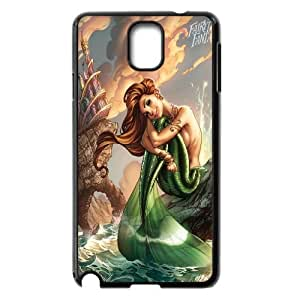Chaap And High Quality Phone Case For Samsung Galaxy NOTE3 Case Cover -Mermaid And Ocean Pattern-LiShuangD Store Case 9