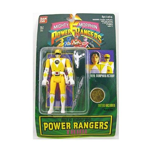 Yellow Mighty Morphin Power Rangers Trini Action Figure