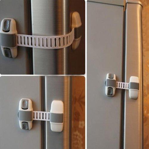 Baby Kids Multi-function Cabinet Fridge Lock Baby Safety Products Big Bargain