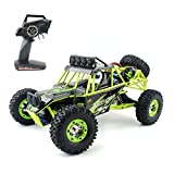 Gizmovine WLtoys RC cars 12428 Hobby level High Speed Fast Race Cars Monster Truck 35mph Four-wheel Drive Rock Crawler Electric Remote Control Off-road Vehicle