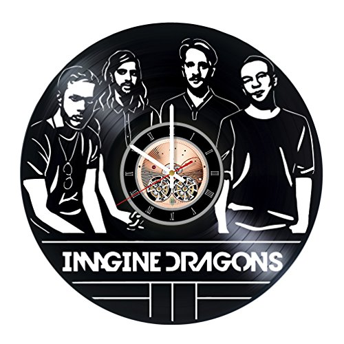 Imagine Dragons Vinyl Record Wall Clock - Get unique Home Ro
