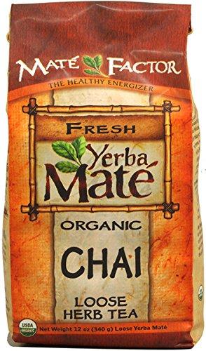 Mate Factor Yerba Organic Chai Loose, 12 Ounce
