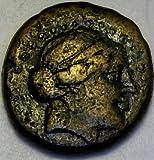 250 GR %2D 200 BC Greek Coin Aeolis%2C H