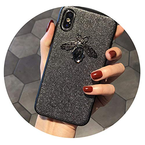 Luxury Fashion Brand Diamond Glitte Soft Case for iPhone 6 iPhone 6S 7 8 Plus X XR XS Max Cute Hard Cover for Samsung Galaxy S8 S9,2,for S8