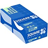 Square Organics Organic Protein Bar, Chocolate Coated Coconut (12 Count) 1.7 Oz, Gluten-Free Soy-Free Dairy-free Vegan High Protein Snack