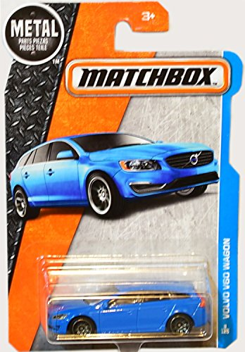 Matchbox 2016 Volvo V60 Wagon 8/125, Light Blue