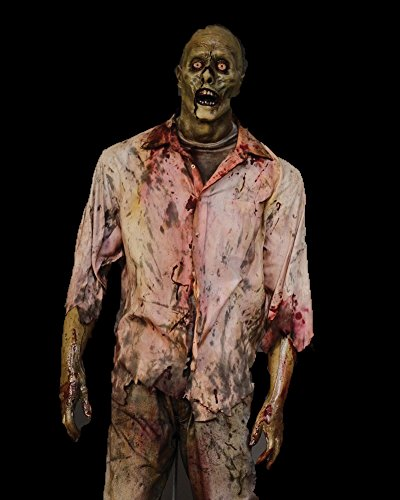 BACK FROM THE GRAVE Animated Halloween Prop Lunging Zombie The Walking Dead Corpse]()