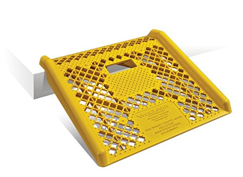 Magliner-Yellow-Plastic-Curb-Ramp
