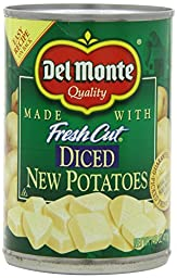 Del Monte Diced New Potatoes 14.5 Oz (Pack of 2)
