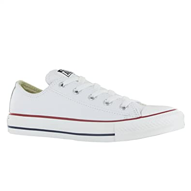 Cheap Converse CT All Star White Leather Trainers Size UK 7