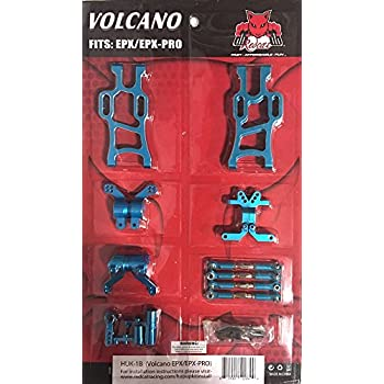 Redcat Racing Volcano EPX Hop Up Kit, Blue