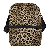 Best Tiger Mens Lunch Boxes - JOYPRINT Lunch Box Bag, Animal Tiger Leopard Skin Review