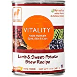 Dogswell, Vitality, Canned Food, Lamb & Sweet Potato, 13 oz
