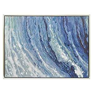 amazon com three hands corporation 50427 abstract wave painting