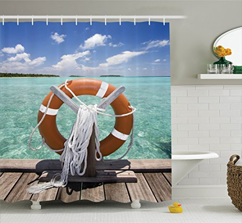 Ambesonne Sunshine Tropical Seashore Accessories
