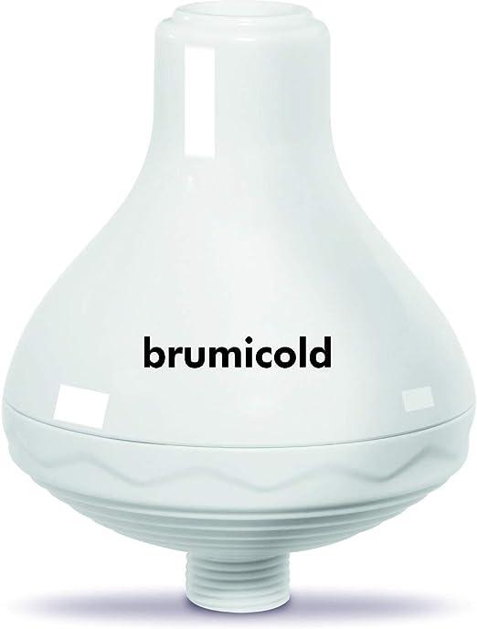 BRUMICOLD SPAIN filtro ducha TAP SPA elimina cloro, metales pesado, microplasticos, ablanda la cal, suaviza pelo y la piel, Ultramontanismo en el baño, ideal para pieles atopicas: Amazon.es: Bricolaje y herramientas
