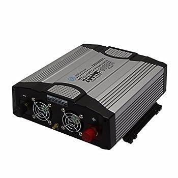 Image of AIMS 2000 Watt 12VDC Car Power Inverter USB Port - Compact Design 16 amps Power Inverters