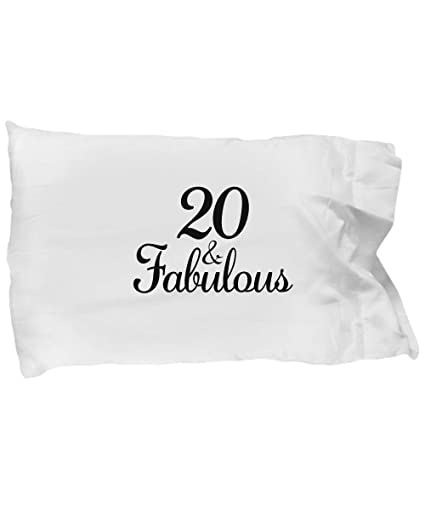 DesiDD 20th Birthday Pillow Case