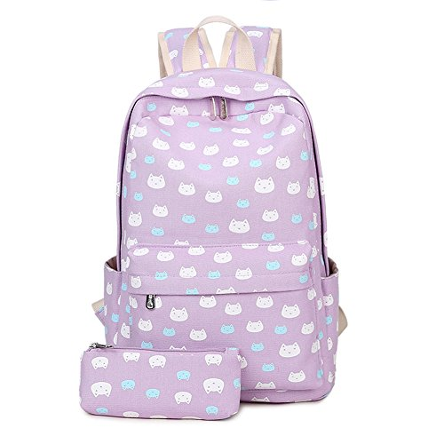 Abshoo Lightweight Canvas Backpack Bookbag